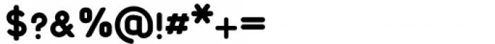 Foda Sans Black Rnd Font OTHER CHARS