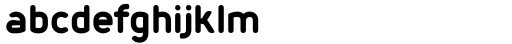 Foda Sans Black Rnd Font LOWERCASE
