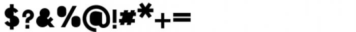Foda Sans Black Solid Font OTHER CHARS