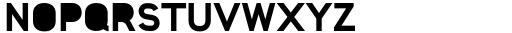 Foda Sans Black Solid Font UPPERCASE