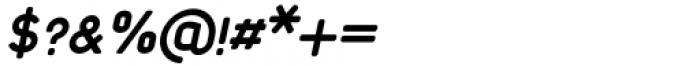 Foda Sans Extra Bold Italic CRV Font OTHER CHARS