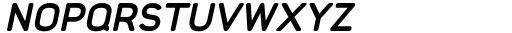 Foda Sans Extra Bold Italic CRV Font UPPERCASE