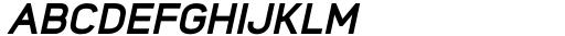 Foda Sans Extra Bold Italic Font UPPERCASE
