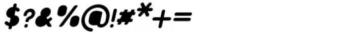 Foda Sans Extra Bold Oblique Rnd Solid Font OTHER CHARS
