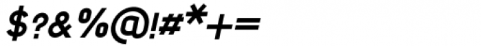 Foda Sans Extra Bold Oblique Font OTHER CHARS