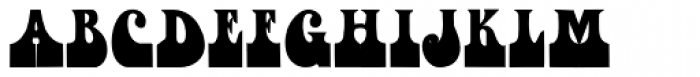 Fofucha1 Bold Font UPPERCASE