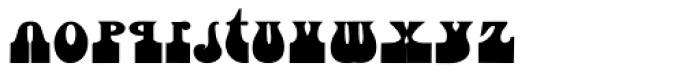 Fofucha1 Bold Font LOWERCASE