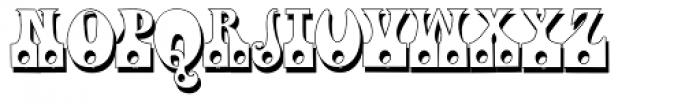 Fofucha1 Shadow Font UPPERCASE