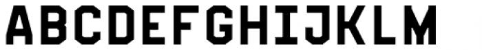 Fold No.21 Mono Font UPPERCASE