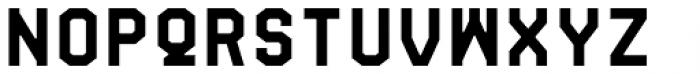 Fold No.21 Mono Font LOWERCASE