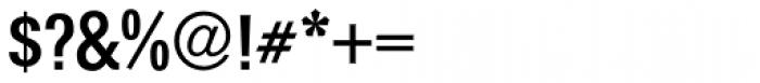 Folio Cond Medium Font OTHER CHARS