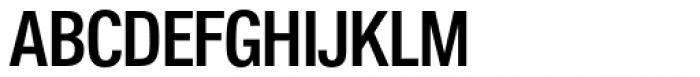 Folio Cond Medium Font UPPERCASE