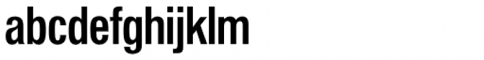 Folio Cond Medium Font LOWERCASE