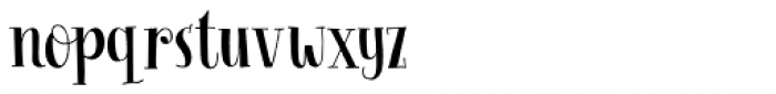 Follow The Light Solid Regular Font LOWERCASE