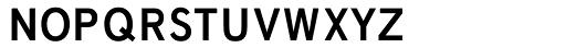 Fonce Sans Pro Small Caps Font LOWERCASE