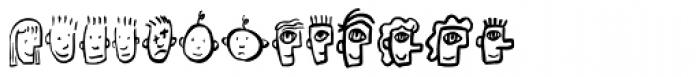 Font Heads Font LOWERCASE