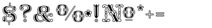 Fontanesi RMU Font OTHER CHARS