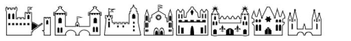 Fontazia Chateaux Font UPPERCASE