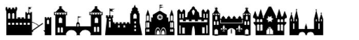 Fontazia Chateaux Font LOWERCASE