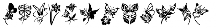 Fontazia Papilio Font UPPERCASE
