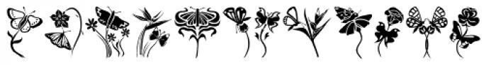 Fontazia Papilio Font LOWERCASE