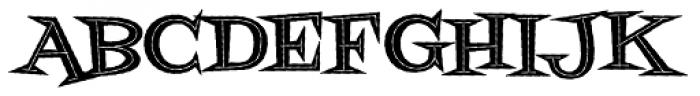 Fontdinerdotcom Jazz Dark Font UPPERCASE