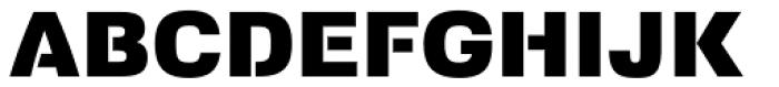 Foobar Pro Black Font UPPERCASE