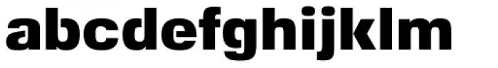 Foobar Pro Black Font LOWERCASE