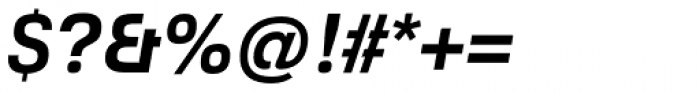 Foobar Pro Bold Oblique Font OTHER CHARS