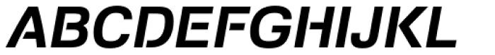 Foobar Pro Bold Oblique Font UPPERCASE