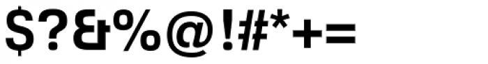 Foobar Pro Bold Font OTHER CHARS