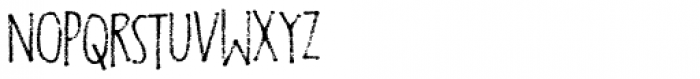 Foolish People Font UPPERCASE