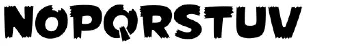 Foom Font UPPERCASE