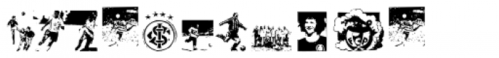 Football Passion Font LOWERCASE