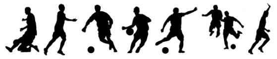 Football World Font UPPERCASE