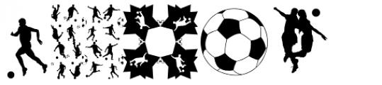Football World Font LOWERCASE