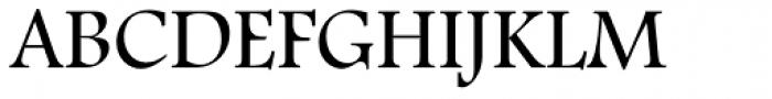Footlight Pro Light Font UPPERCASE
