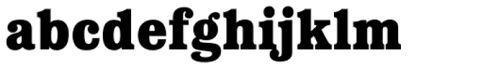 Forbes Bold Font LOWERCASE