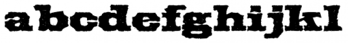 Force Brute&Ignorance Font LOWERCASE