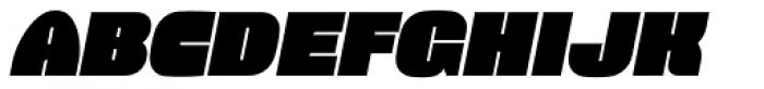 Force Italic Font UPPERCASE