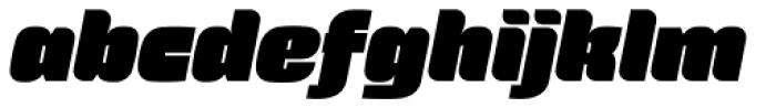 Force Italic Font LOWERCASE