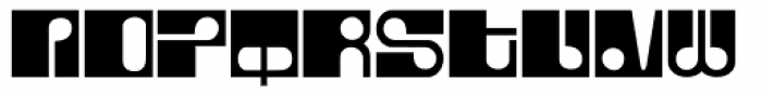 Fore Font LOWERCASE