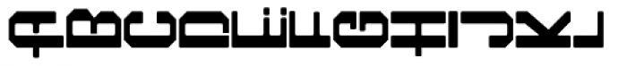 Foreign Language Regular Font UPPERCASE