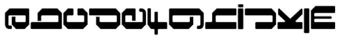 Foreign Language Regular Font LOWERCASE