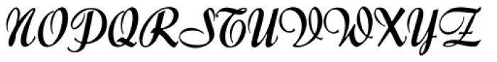 Forelle MN Font UPPERCASE