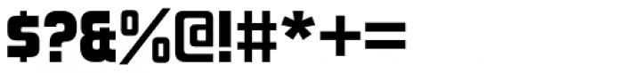 Forgotten Futurist Black Font OTHER CHARS