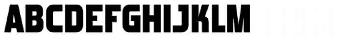 Forgotten Futurist Black Font UPPERCASE