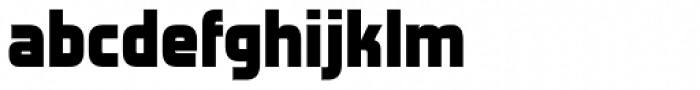 Forgotten Futurist Black Font LOWERCASE