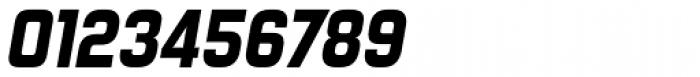 Forgotten Futurist Heavy Italic Font OTHER CHARS
