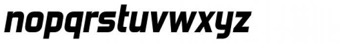 Forgotten Futurist Heavy Italic Font LOWERCASE